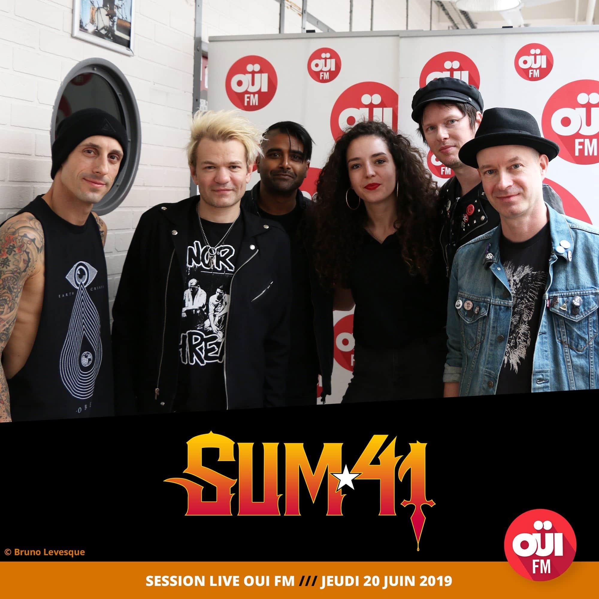 Sum 41 ARI OUIFM Mina