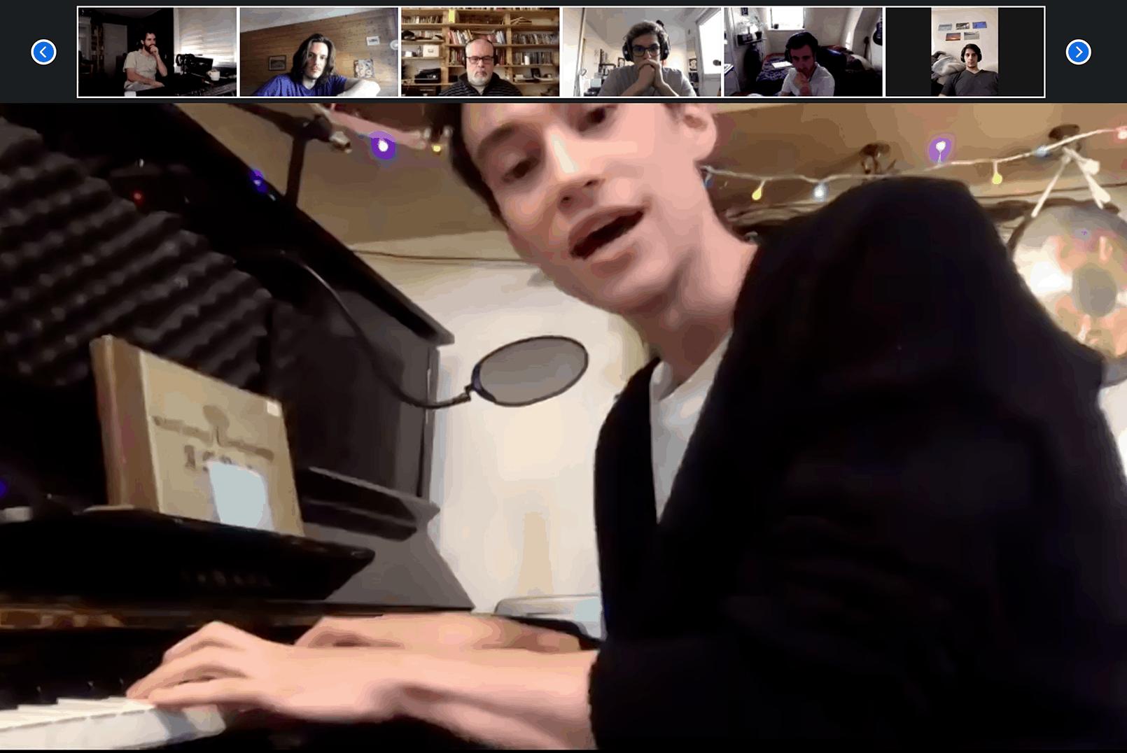 Jacob Collier Piano ARI Paris