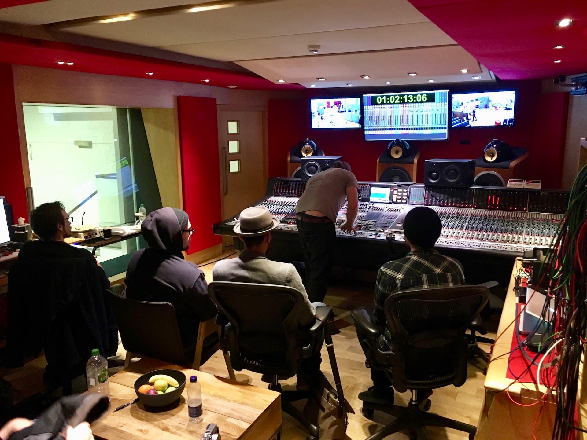 Control room Studio Two