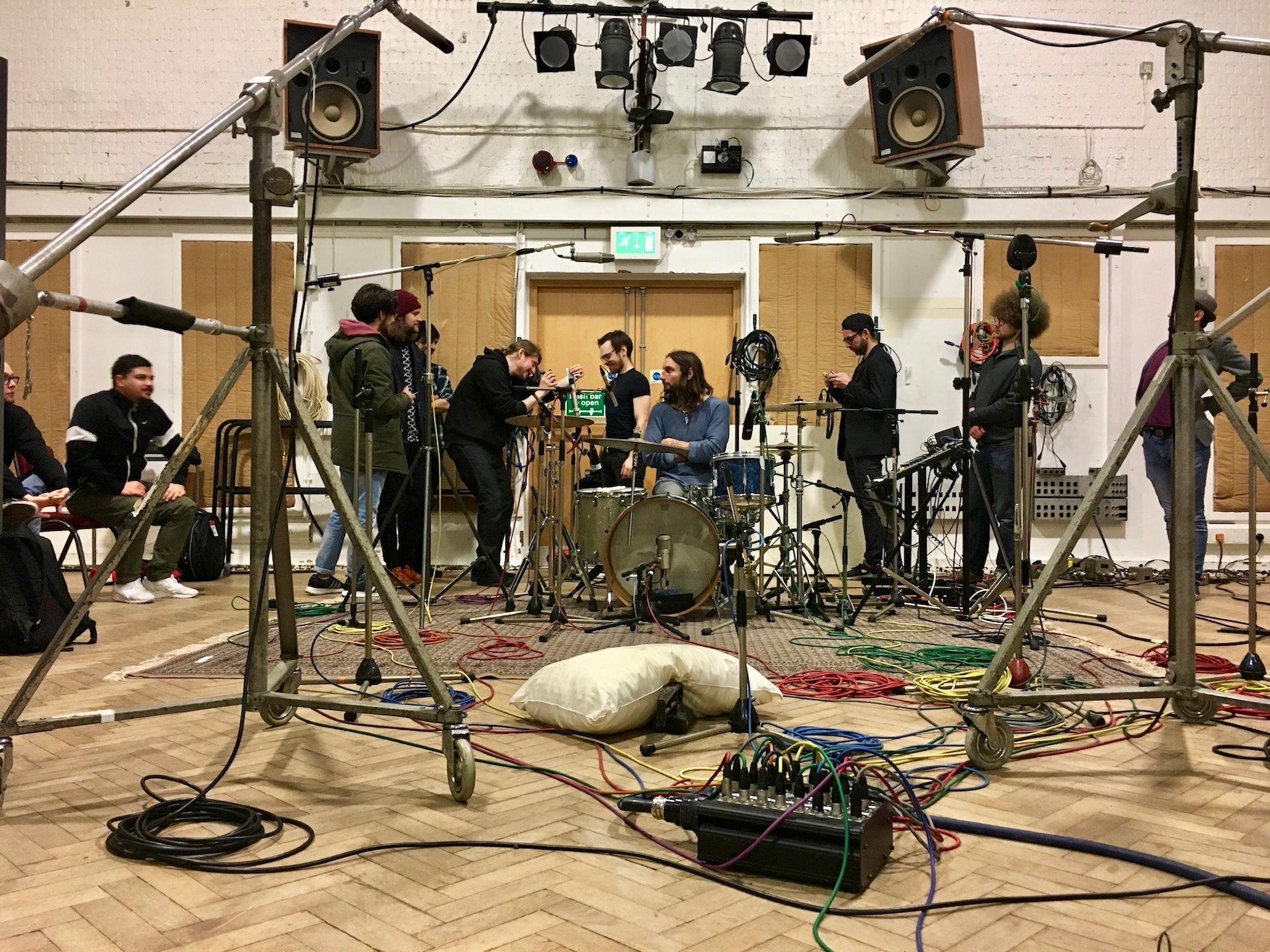 Studio Two set up
