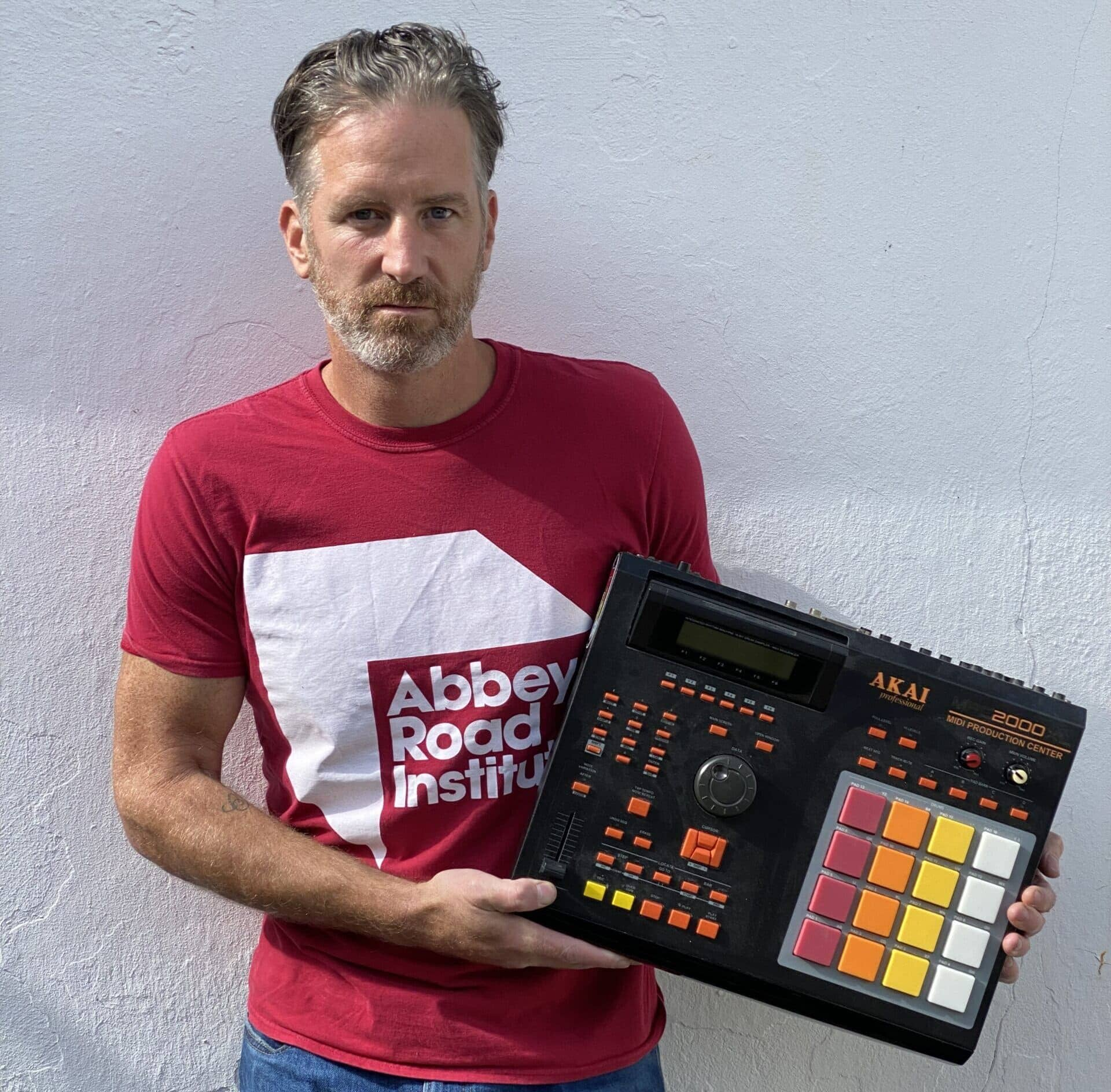Jason and the Akai MPC 2000 '808 custom'