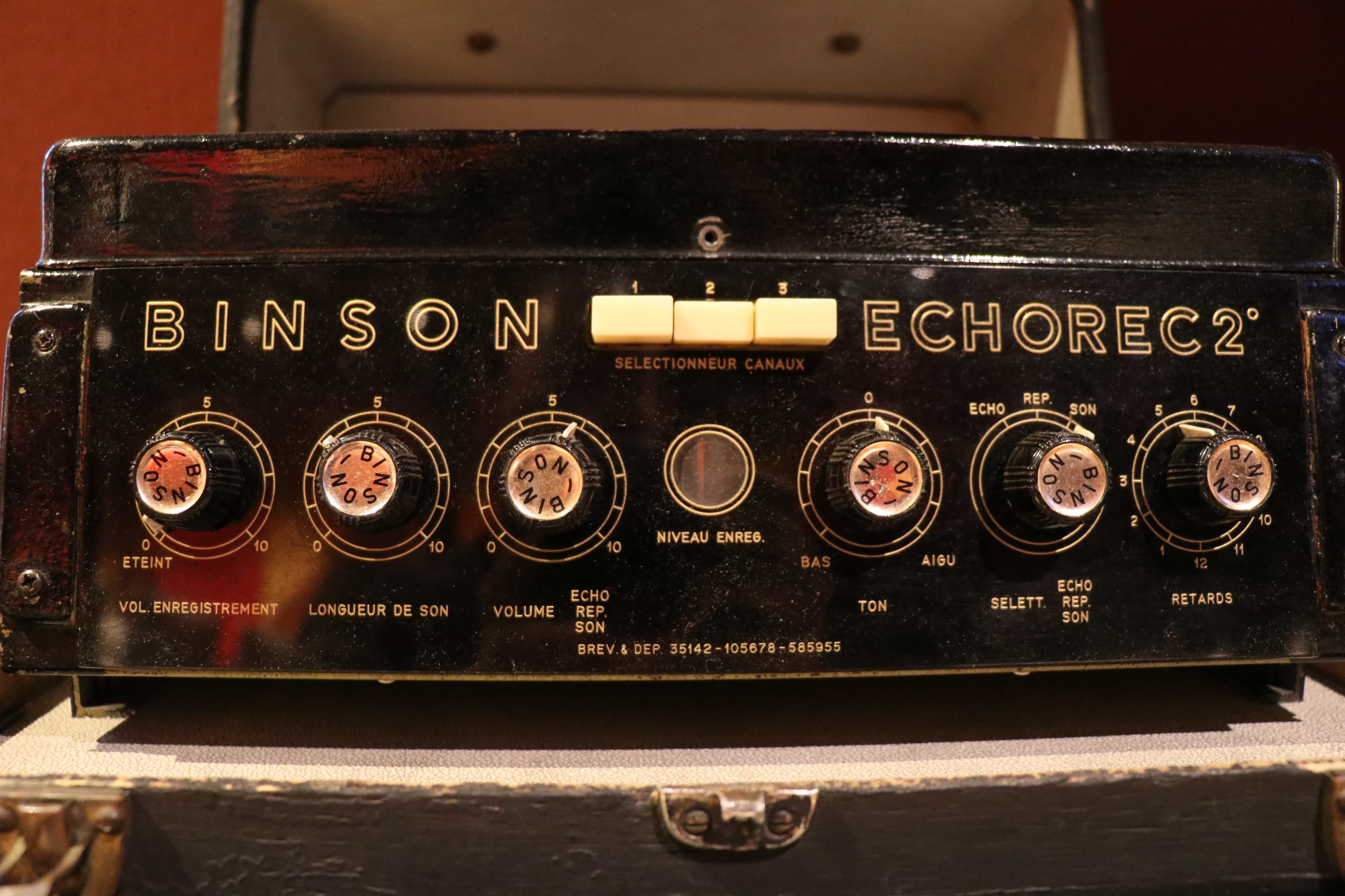 original Binson Echorec tape delay