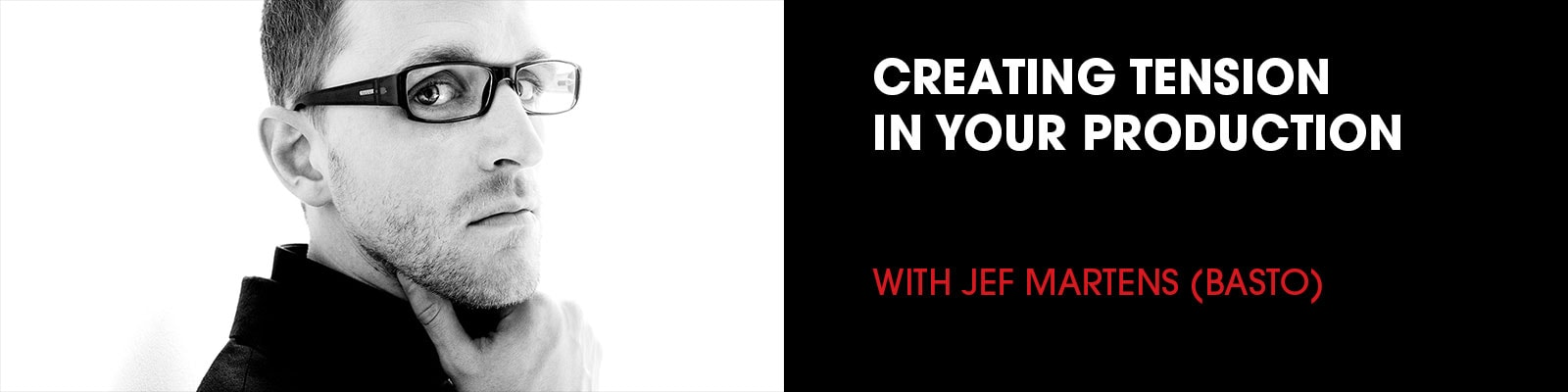 create tension in your production workshop with jef martens