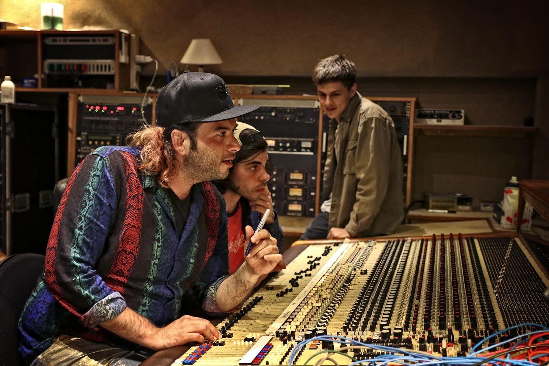 Bruno at Rockfield Studios
