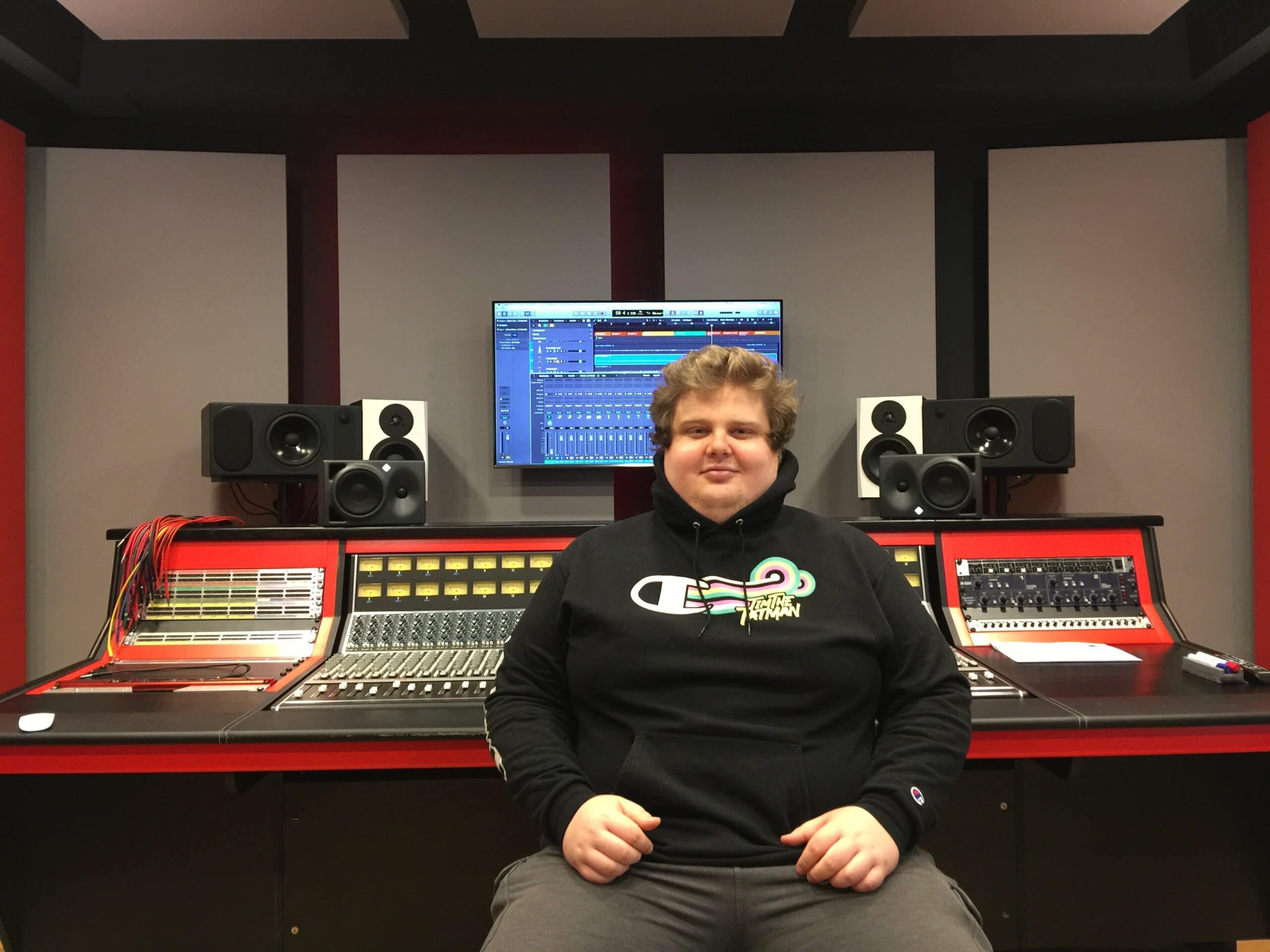 Leo im Studio 2 an der API Konsole