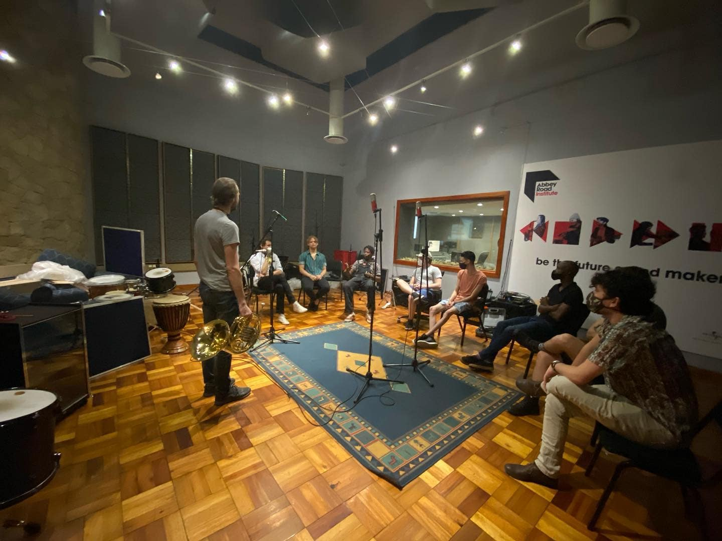 Abbey Road Institute Johannesburg, study sound engineering, producer